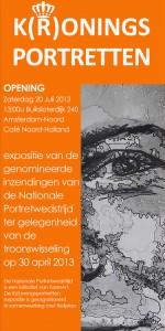 Expositie K(r)oningsportretten Amsterdam